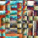 Abstract Lines and Shapes 2 by Edward Fielding