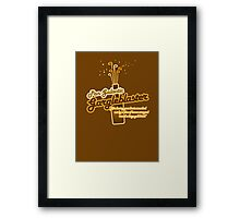 The Pan Galactic Gargle Blaster Framed Print