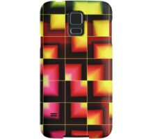 Colorful geometric abstract Samsung Galaxy Case/Skin