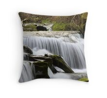 Falls on Sweet Creek,Oregon #3 Throw Pillow