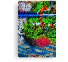 Abstract Graffiti Wall Art Photography - 2 Canvas Print