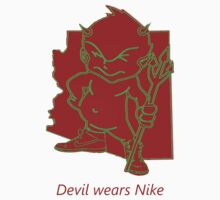 devil wears Nike by Iscariot