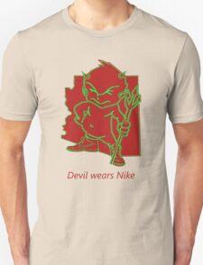 devil wears Nike T-Shirt