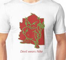 devil wears Nike Unisex T-Shirt