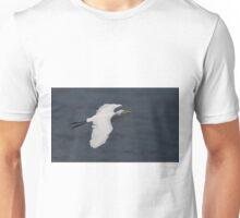 Great White Beauty in Flight Unisex T-Shirt