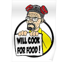 Will Cook For Food Poster