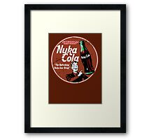 The Refreshing Nuka-Lear Drink Framed Print