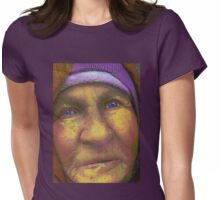 I shall wear purple... Womens Fitted T-Shirt