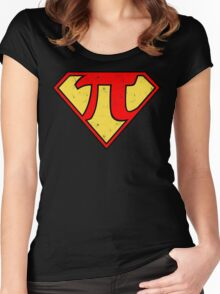 Super Pi Women's Fitted Scoop T-Shirt