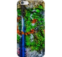 Abstract Graffiti Wall Art Photography - 3 iPhone Case/Skin