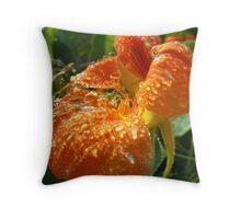 Nasturtium Throw Pillow