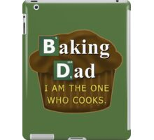 Funny Dad Who Bakes or Cooks Spoof Parody iPad Case/Skin