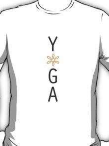 Yoga- Orange Tall T-Shirt