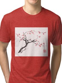 New hope sumi-e painting Tri-blend T-Shirt