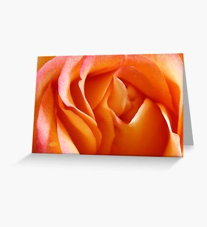 Peach Sherbet Greeting Card