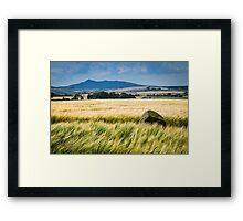 Bennachie, from Bourtie Framed Print