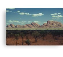 The Olgas Canvas Print