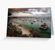 Packed Bay - Rottnest island, Western Australia. Greeting Card