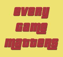 Every Game Matters Kids Tee