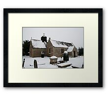A Country Church Framed Print