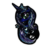 Princess Luna-second my little pony piece Photographic Print