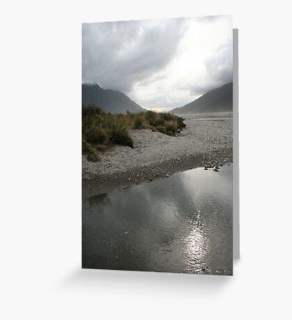 Reflective Plains Greeting Card