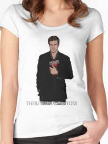 Richard Castle Women's Fitted Scoop T-Shirt