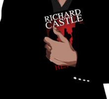 Richard Castle Sticker
