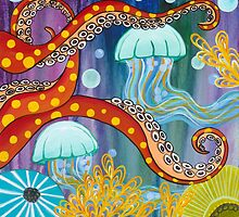 Flow like a Jelly fish by Carla Bank