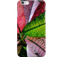 Colorful Abstract Botantical Leaves Photography iPhone Case/Skin