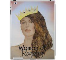 Woman of Royalty iPad Case/Skin