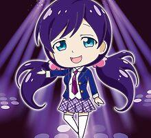 Love Live! - Nozomi Toujou (chibi edit) by alphavirginis