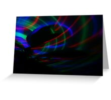 Light in Movement 4 Greeting Card
