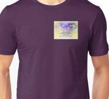 Serenity Prayer Crocus Yellow Glow Unisex T-Shirt