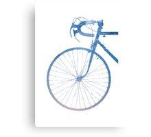 Crescent Bike Galaxy Canvas Print