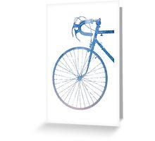 Crescent Bike Galaxy Greeting Card