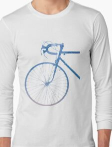 Crescent Bike Galaxy Long Sleeve T-Shirt