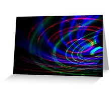 Light in Movement 7 Greeting Card