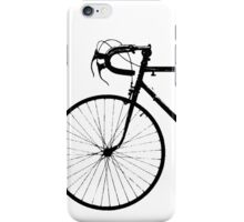 Crescent Bike Black iPhone Case/Skin