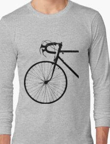 Crescent Bike Black Long Sleeve T-Shirt
