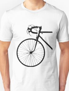 Crescent Bike Black Unisex T-Shirt