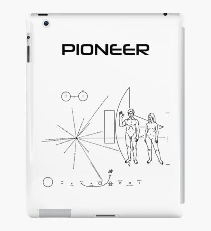Pioneer Program - Black Ink iPad Case/Skin