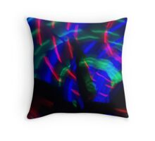 Light in Movement 10 Throw Pillow