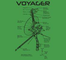 Voyager Program - Black Ink Kids Tee