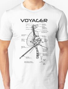 Voyager Program - Black Ink T-Shirt