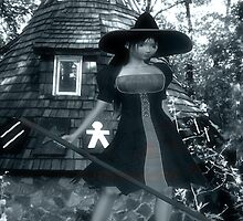 witches hut by Cheryl Dunning
