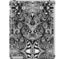 Drawing Floral Zentangle iPad Case/Skin