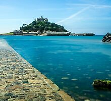 St Michael's Mount, Cornwall, England by Carolyn Eaton