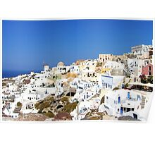 Oia Village II Poster