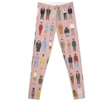 The Characters of Wes Anderson Leggings